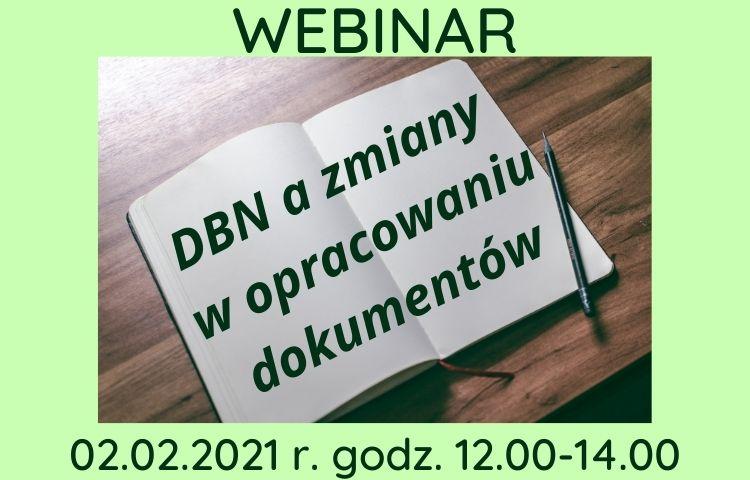 DBN a zmiany w opracowaniu dokumentów