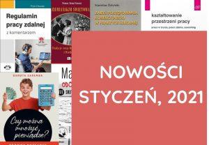 Nowości, Książki – styczeń, 2021