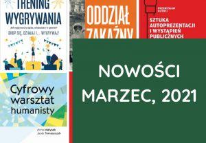 Nowości, Książki – marzec, 2021