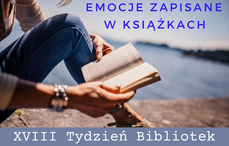 grafika: kobieta siedząca na molo nad jeziorem i czyta książkę