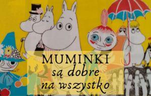 Plakat przedstawiający rodzinę muminków