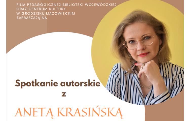 Spotkanie z autorskie z Anetą Krasińską