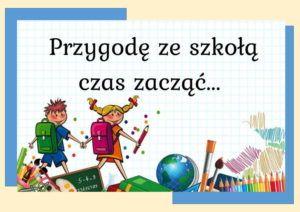 Przygodę ze szkołą czas zacząć. Edukacja wczesnoszkolna w zbiorach PBW Warszawa