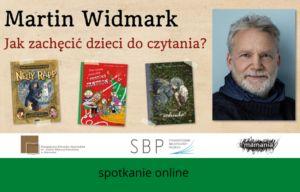 28 października  godz. 20.00 spotkanie on-line z Martinem Widmarkiem
