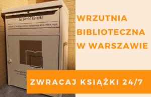 Wrzutnia biblioteczna w Warszawie