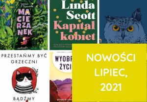 Nowości, Książki – lipiec, 2021