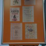 Plansza przedstawiająca zdjęcia Cypriana Norwida