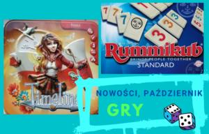 Nowości, GRY – październik, 2021