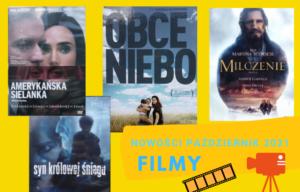 Nowości, FILMY – październik, 2021